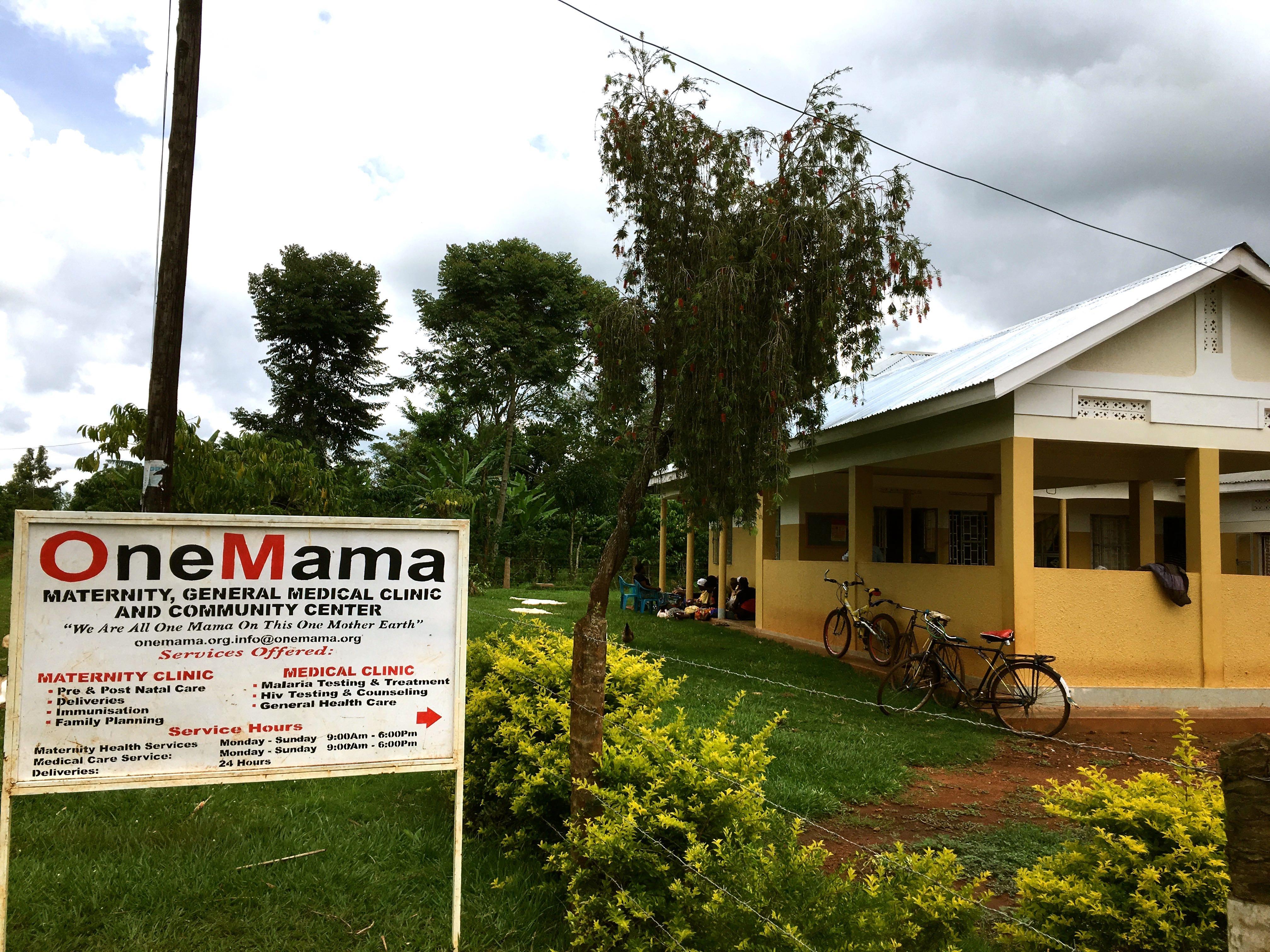 OneMama Clinic in rural Uganda