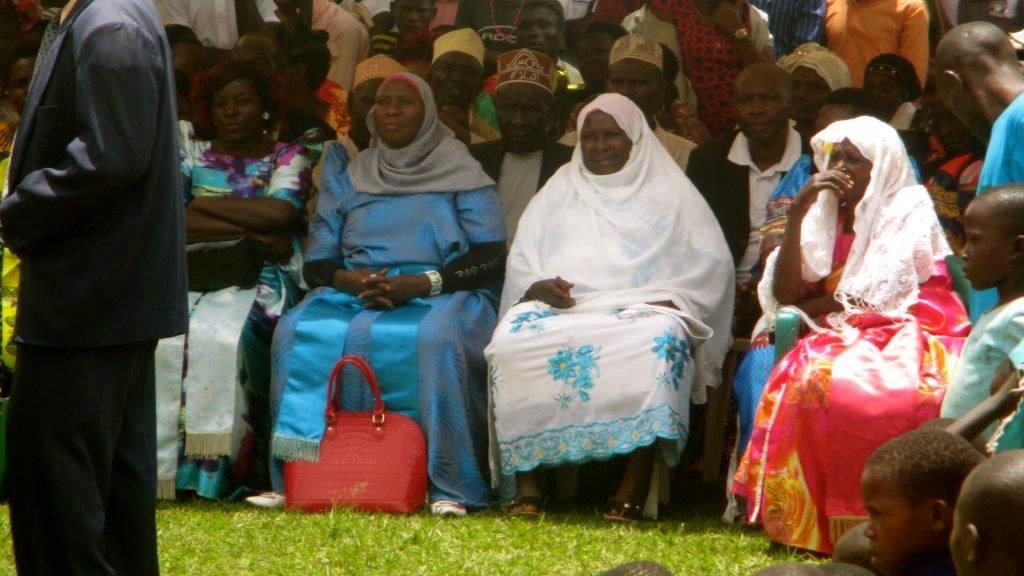 Village Members Gathering Domestic Violence Awareness