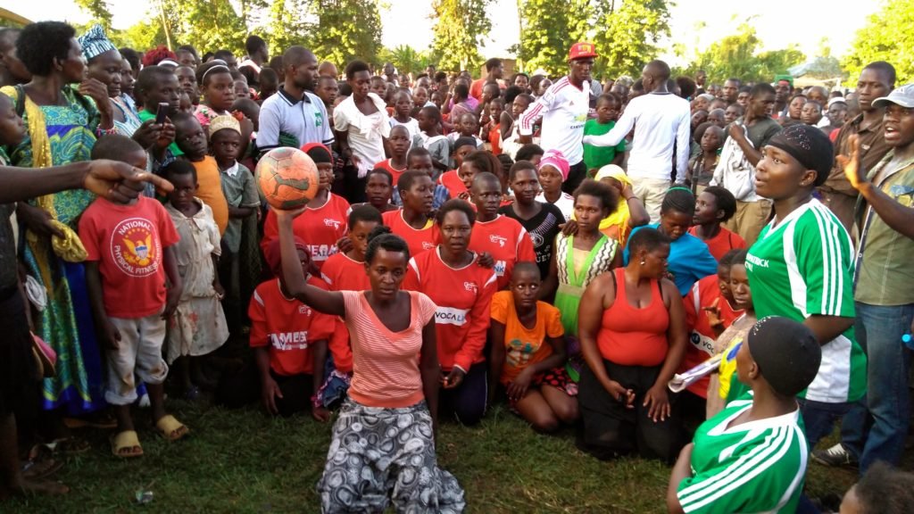 OneMama Women's Day Celebration - Introducing Soccer Team