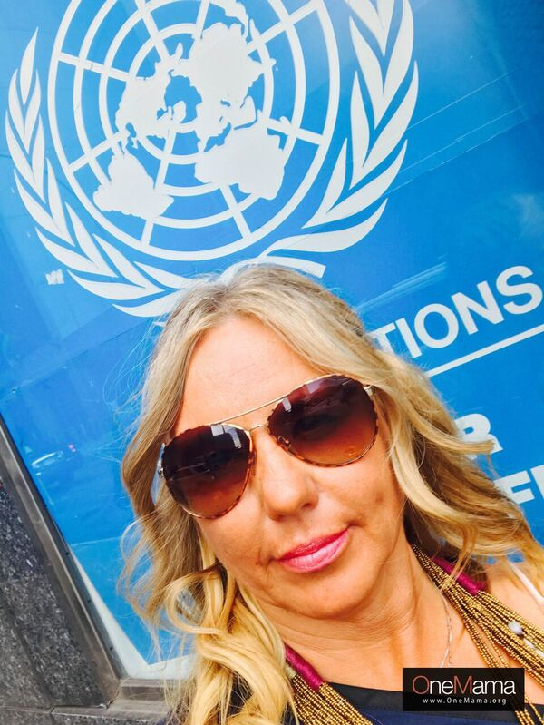 Siobhan at UN New York