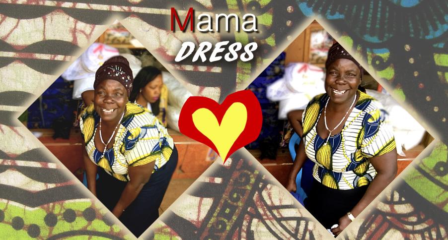 Mama Dress Smiles